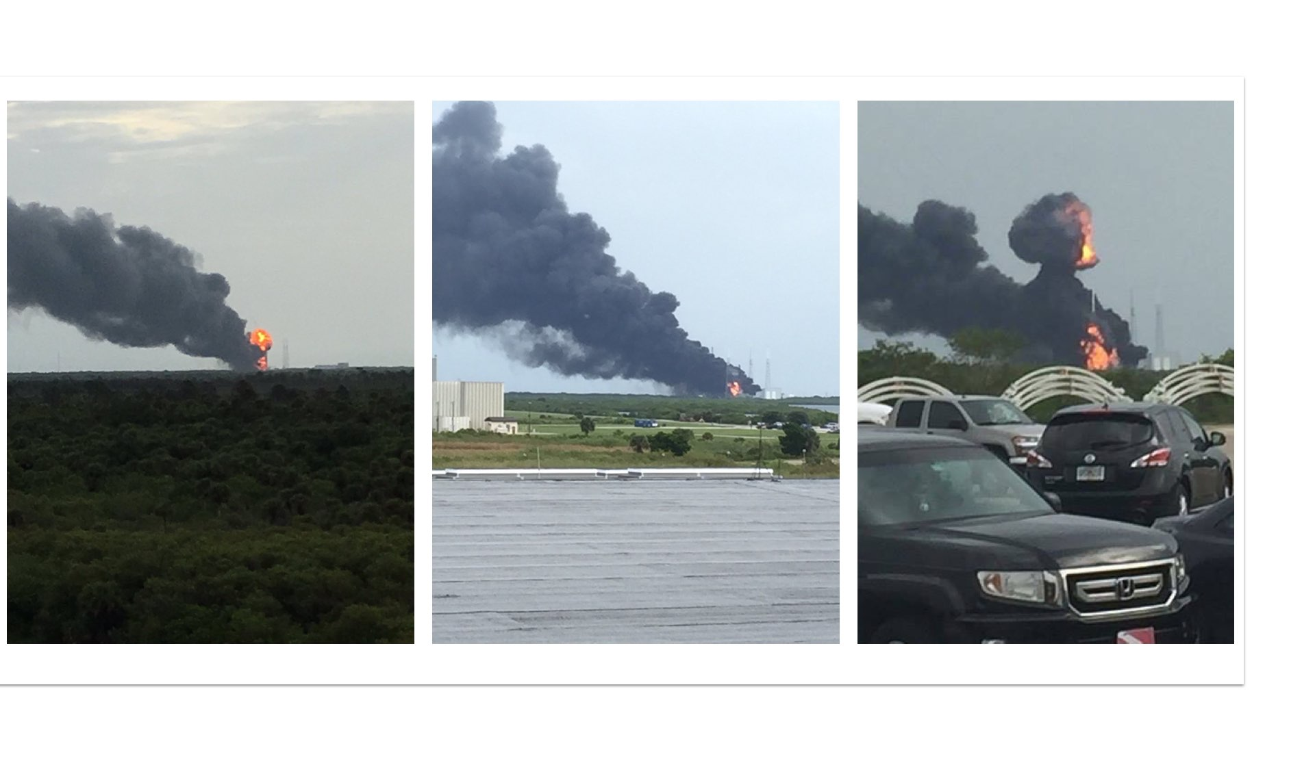 SpaceX - explosion