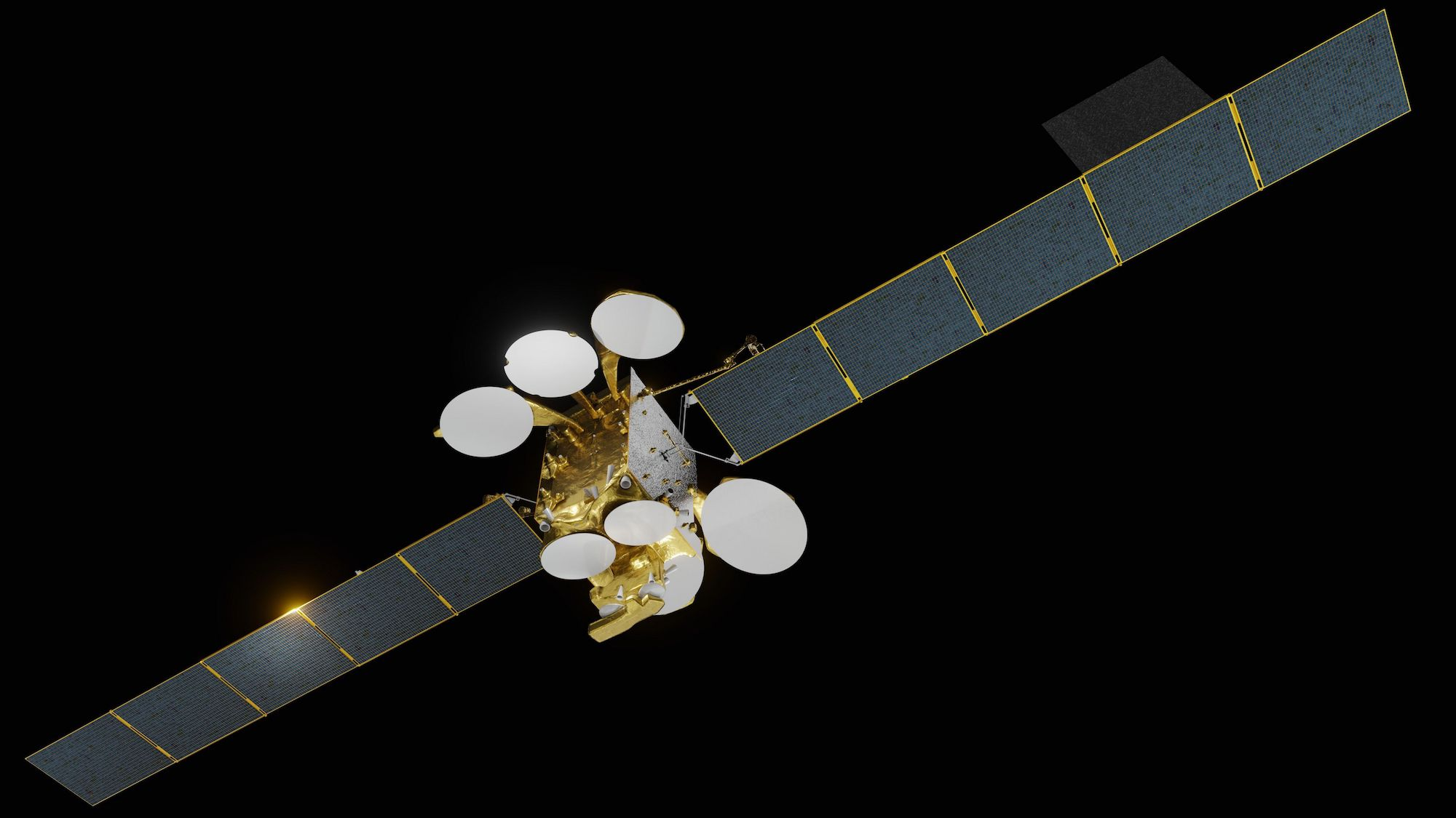 La satellite Turksat 5A (illustration). Crédit : Airbus Defence and Space