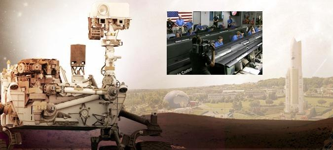 En direct : l'atterrissage de Curiosity sur Mars